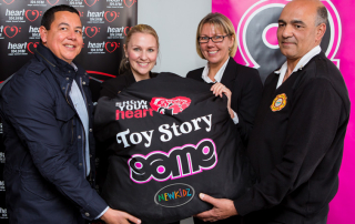 Heart 104.9FM and GAME – with Newkidz on the Block present TOY STORY